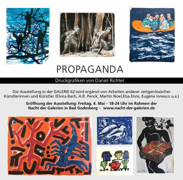 Propaganda - Ausstellung in der Galerie 62