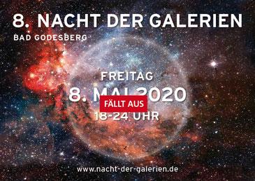 Absage Nacht der Galerien 2020